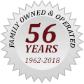 Family Owned & Operated for over 56 years!